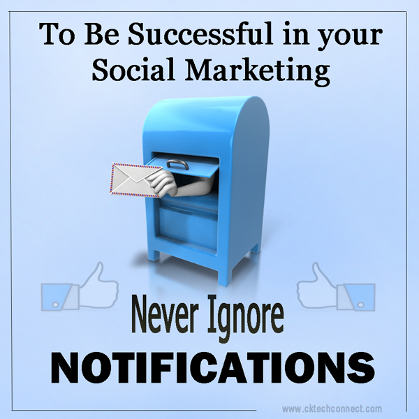To Be Successful Never Ignore Notifications