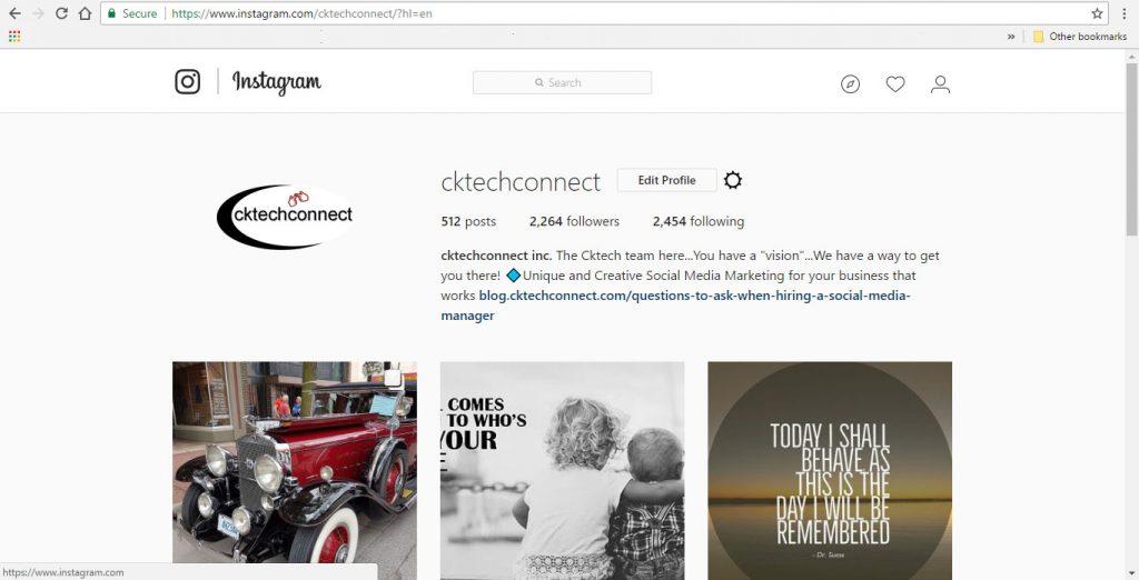 Instagram Hack – Post To Instagram From Your Desktop