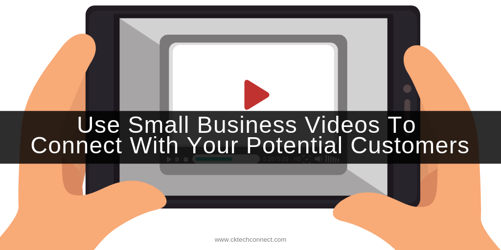 Use Small Business Videos To Connect With Your Potential Customers